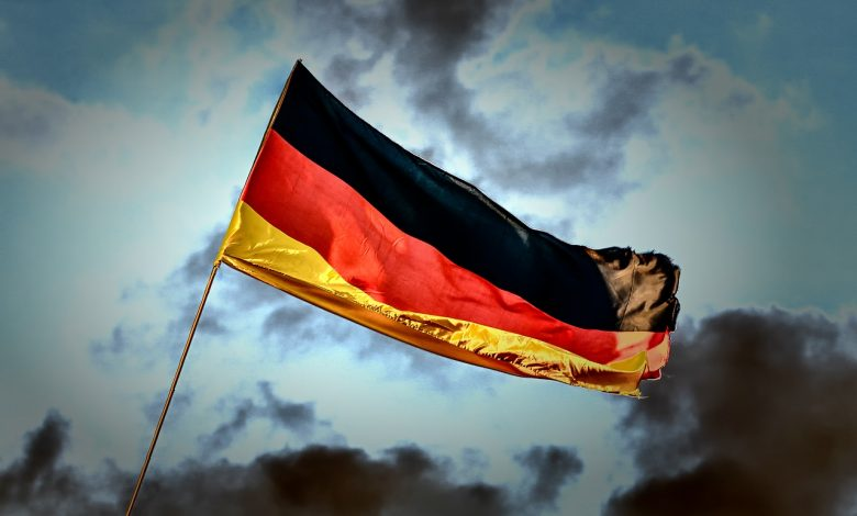 data driven germany flag