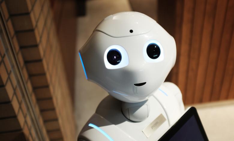 AI machine learning robot