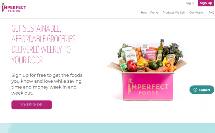 Imperfect Foods brand case
